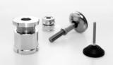 Aufstelltechnik: Niveauausgleichs-Elemente über Kugelverstell-Schrauben bis Schwenk- und Gelenkfüße