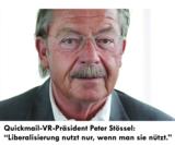Quickmail-VR-Präsident Peter Stössel: Kooperation mit AWZ