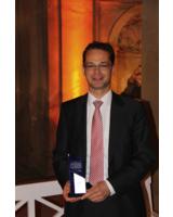"""winkler Geschäftsführer Rüdiger Hahn nahm die Auszeichnung """"Beste Marke 2010"""" entgegen"""