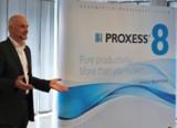 Lutz Krocker präsentiert den Gästen erstmalig das Dokumenten-Managementsystem PROXESS 8.