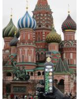 ArgandOr Arganöl auf dem Roten Platz in Moskau