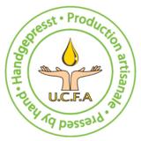 """""""Handgepresst-Zeichen"""" für das original handgepresste Arganöl der UCFA"""