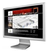 3D-Bildschirmansicht von DIMENXION conference V3