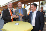 (v.l.n.r.) Clemens Sexauer, Hans-Joachim Schwarz, Marcel Schwehr