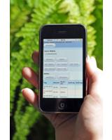 iPhone zur externen Datenerfassung