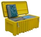 Cemsorb als Havarieset in der praktischen Umhängetasche oder im Notfalltrolley ist schnell zur Hand