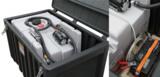 Die CEMbox 400 schützt den Tankinhalt und bietet zusätzlichen Stauraum