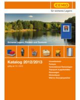 Der neue Cemo-Katalog enthält Profiausrüstung für sicheres Lagern, Fördern, Dosieren