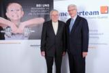 Viel Erfolg wünscht Horst Brockmann (l.) dem neuen AR-Vorsitzenden Burkhard Leffers (r.)