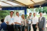 v.l.n.r. Werner Enzinger, Uwe Jäger, Marion Schwedler, Thomas Bohlen, Josef Kolb, Thomas Schley
