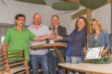 v.l.n.r.: Peter Simsch, Matthias Joreck, Steffen Tremel, Michaela Helmrich und Claudia Tremel