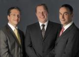 Mag. Manfred Steinwiedder und die Geschäftsführer Dr. Florian Schatz und Mag. Clemens Satke