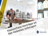 Visual Merchandising und Marketing-Vorträge auf den Halvotec Infotagen
