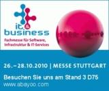 ABAOO zeigt SAP Business ByDesign bei der It&Business Stuttgart