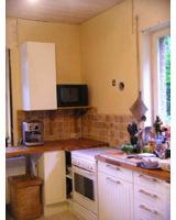 Die Küche nach der Sanierung mit epatherm. Bild: epasit