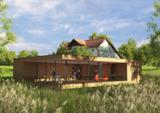Gebäude der Peter Maffay Stiftung als Visu.  Quelle: WSM-Architekten, Pöcking