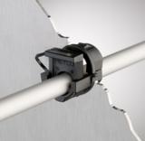 Kabelzugentlastung mit Rasterverschluss