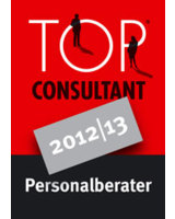 Dr. Weick Executive Search GmbH ist Top Consultant 2012