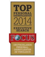 Dr. Weick Executive Search erhält FOCUS Auszeichnung: Top Personaldienstleister 2014