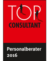 Dr. Weick Executive Search GmbH ist TOP CONSULTANT 2016 - Kategorie Personalberater