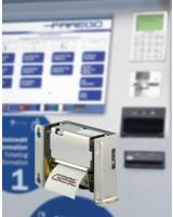 GeBE Thermodrucker COMPACT Plus  in Scheidt & Bachmann Ticketautomaten FareGo Sales OT 40