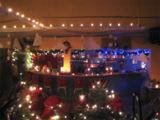 Weihnachtsstimmung beim Candle Light Training in der Fitness Oase Wörth. Foto: Fitness Oase