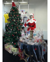 Die Deko steht, jetzt kann Weihnachten kommen. Foto: odeon