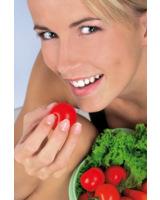 Ernährungsanalyse im Fitnessstudio VITALIS in München. Foto: Horn Verlag
