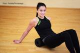 Fascial Release Übungen werden mit speziellen Rollen ausgeführt. Foto: Fotolia/Printemps