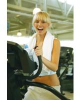 Fitnesstraining macht Spaß und schlank. Foto: Horn Verlag