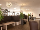 Lounge im Finest Fitness Label Bad Krozingen. Foto: FFL