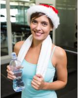 Fitnesstraining zur Weihnachtszeit in der Fitness Oase Wörth. Foto: Fotolia