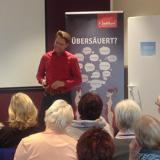 Roland Jentschura bei seinem Vortrag im Vitalis Düsseldorf. Foto: Vitalis