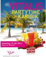 Partytime Karibik im VITALIS am 19.2.2011