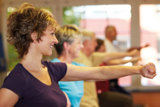 Rehasport nach § 44 in der Fitness Oase Wörth. Foto: Fotolia
