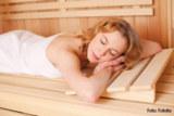 Entspannung und Erholung in der Sauna - gut für die Gesundheit. Foto: Fotolia