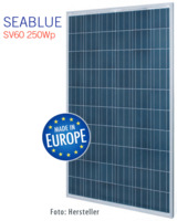 Das SEABLUE Solarmodul. Foto: Hersteller