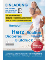 Vortrag im fit & funny am 16. April 2015