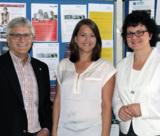 Hans-Jürgen Krieg (hl-studios), Katrin Lengert und  Prof. Dr. Ute Ambrosius, Hochschule Ansbach