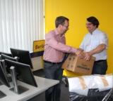 Foto: hl-studios, Erlangen (v.l.): Die Geschäftsführer Jürgen Hinterleithner und Alfons Loos