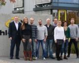 (Foto: hl-studios, Erlangen): Neun von den 21 neuen Mitarbeitern der letzten Monate