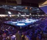 (Foto: hl-studios, Erlangen): Großes Handballfest mit über 8.000 Fans in der Arena in Nürnberg
