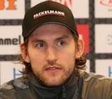 (Foto: hl-studios, Erlangen): HC Erlangen – Tobias Rivesjö konnte gleich die ersten Treffer erzielen