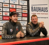 (Foto: hl-studios, Erlangen): HC Erlangen verstärkt sich mit Torjäger Tobias Rivesjö (links)