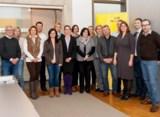 """(Foto: hl-studios, Erlangen): Die IHK-Arbeitskreis """"Personalmanagement"""" traf sich bei hl-studios"""