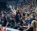 (Foto: hl-studios, Erlangen): Der HC Erlangen hofft wieder auf gute Stimmung beim Heimspiel