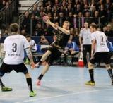 (Foto: hl-studios, Erlangen): HC Erlangen – Jonas Link überzeugte mit fünf Treffern
