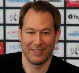(Foto: hl-studios, Erlangen): Geschäftsführer Stefan Adam: der Support der HCE-Fans ist fantastisch