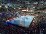 (Foto: hl-studios, Erlangen): DKB Handball-Bundesliga: der HC Erlangen in der Arena in Nürnberg