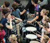 (Foto: hl-studios, Erlangen): Die Fans des HC-Erlangen werden immer mehr zum Erfolgsfaktor